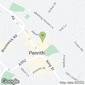 Map of Chiara Murtas Hair & Beauty in Penrith, cumbria
