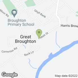 Map of Broughton Stores in Great Broughton, Cockermouth, cumbria