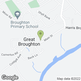 Map of Brewery House in Great Broughton, Cockermouth, cumbria