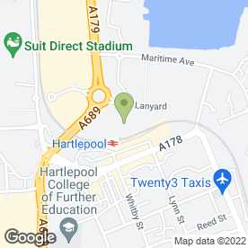 Map of Vue Cinema in Hartlepool, cleveland