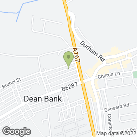 Map of G & P Plastering in Ferryhill, county durham
