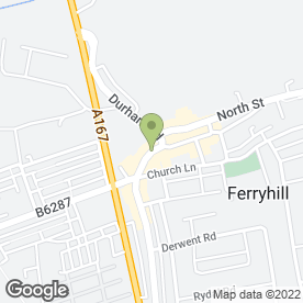Map of Stark Computers & Gaming in Ferryhill, county durham