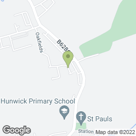 Map of David Richardson in Hunwick, Crook, county durham