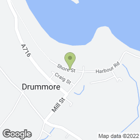 Map of Alex Scott Waste Management in Drummore, Stranraer, wigtownshire