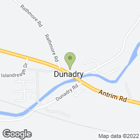 Map of ELLIE MAYS in Dunadry, Antrim, county antrim