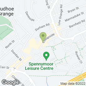 Map of HOUSE HAIR & BEAUTY in Spennymoor, county durham