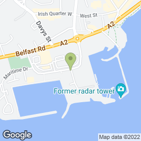 Map of Brewers Fayre & Premier Inn in Carrickfergus, county antrim