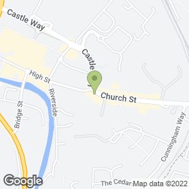 Map of D A MARTIN SOLICITORS in Antrim, county antrim