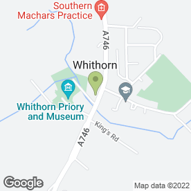 Map of The Whithorn Trust in Whithorn, Newton Stewart, wigtownshire