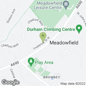 Map of Nelson Electrical Services in Meadowfield, Durham, county durham