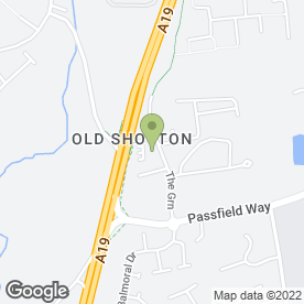 Map of The Sizzling Stake Pub House in Old Shotton, Peterlee, county durham