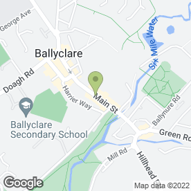 Map of World Of Colour in Ballyclare, county antrim