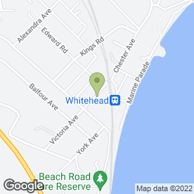 Map of Whitehead Video in Whitehead, Carrickfergus, county antrim