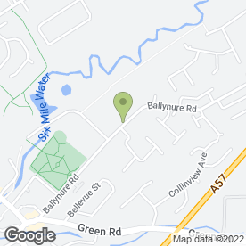 Map of CLARE VETERINARY GROUP in Ballyclare, county antrim