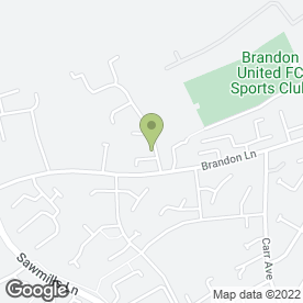 Map of JA Joinery & Building Services in Brandon, Durham, county durham
