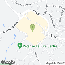 Map of Specsavers Hearing Centres in Peterlee, county durham