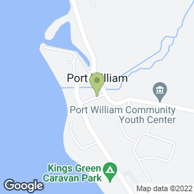 Map of K-Vision in Port William, Newton Stewart, wigtownshire