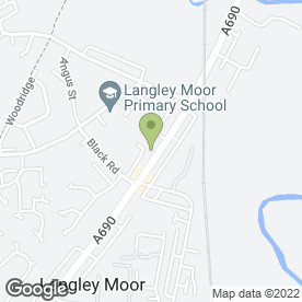 Map of The Cod Father in Langley Moor, Durham, county durham