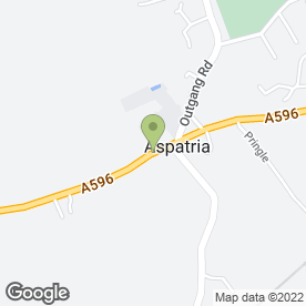 Map of Thomson Travel in Aspatria, Wigton, cumbria
