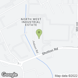Map of Profound Services Ltd in North West Industrial Estate, Peterlee, county durham