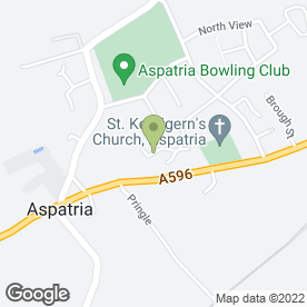 Map of Eilbeck Cleaning Services in Aspatria, Wigton, cumbria