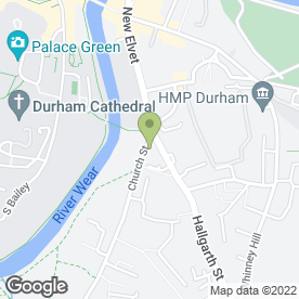 Map of New Inn in Durham, county durham