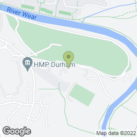 Map of Durham Amateur Rowing Club in Durham, county durham