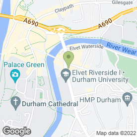 Map of The Picnic Basket in Durham, county durham