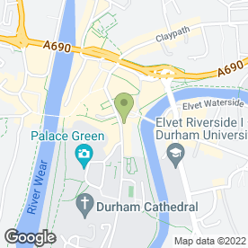 Map of ANDREWS ANGEL SOLICITORS in Durham, county durham