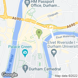 Map of Flat White in DURHAM, county durham