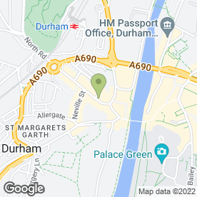 Map of City Attic in Durham, county durham