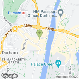 Map of Hairdressing Haven in DURHAM, county durham