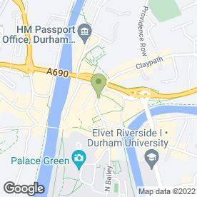 Map of Barclays Bank plc in Durham, county durham