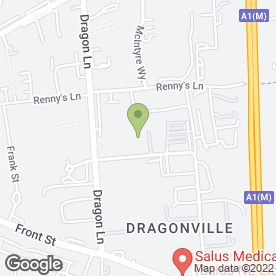 Map of DJL Coachworks in Dragonville, Durham, county durham