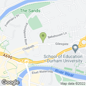 Map of The Claypath Delicatessen in Durham, county durham