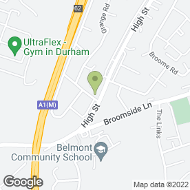Map of The Beauty Centre in Belmont, Durham, county durham