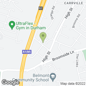 Map of The Beauty Centre in Durham, county durham