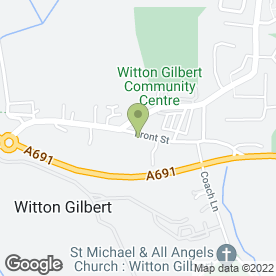Map of Glenndenning Arms in Witton Gilbert, Durham, county durham