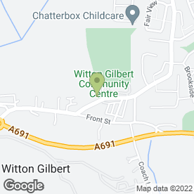 Map of Witton Gilbert Playgroup in Witton Gilbert, Durham, county durham