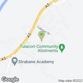 Map of Northface Access Services in Strabane, county tyrone