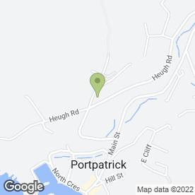 Map of Rickwood Hotel in Portpatrick, Stranraer, wigtownshire