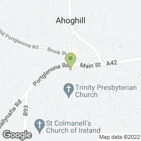 Map of P Dougan Electrical in Ahoghill, Ballymena, county antrim