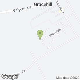 Map of Maine Driving School in Gracehill, Ballymena, county antrim