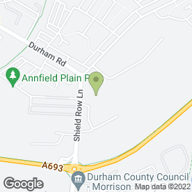 Map of Kevin Brunton Car & Commercials in Stanley, county durham