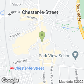 Map of Specsavers Hearing Centres in Chester Le Street, county durham