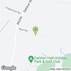 Map of BD Removals in Dalston, Carlisle, cumbria
