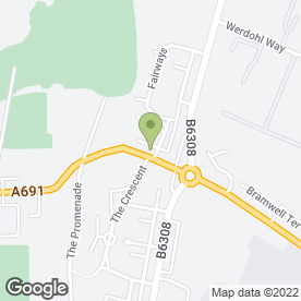 Map of Self Storage Consett in Consett, county durham