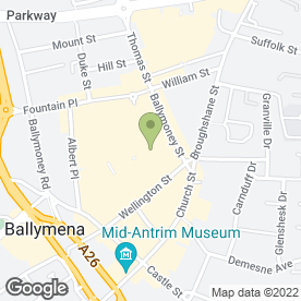 Map of HEAVENLY in Ballymena, county antrim
