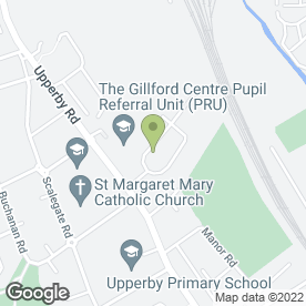 Map of Allen Roofing Contractor in Carlisle, cumbria