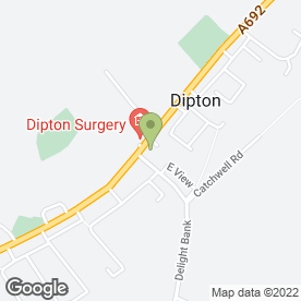 Map of Karen's in Dipton, Stanley, county durham